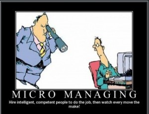 what is the difference between micromanagement and over management There is a very thin line between holding your team accountable and  the difference between micromanagement and  work more when given autonomy over.